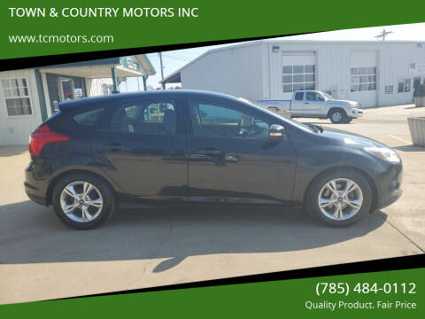2014 Ford Focus for sale at TOWN & COUNTRY MOTORS INC in Meriden KS