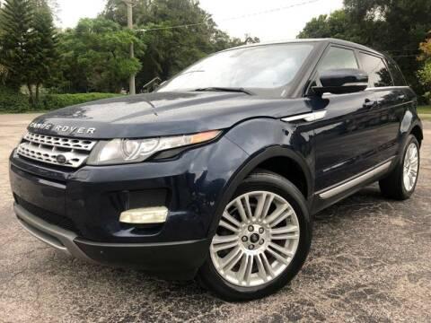 2013 Land Rover Range Rover Evoque for sale at Consumer Auto Credit in Tampa FL