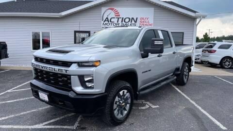 2021 Chevrolet Silverado 2500HD for sale at Action Motor Sales in Gaylord MI