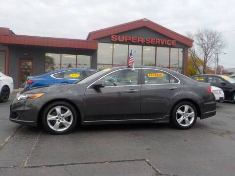 2010 Acura TSX for sale at Super Service Used Cars in Milwaukee WI