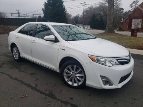 2013 Toyota Camry Hybrid for sale at McAdenville Motors in Gastonia NC