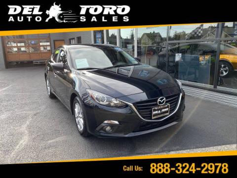 2015 Mazda MAZDA3 for sale at DEL TORO AUTO SALES in Auburn WA