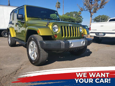 2008 Jeep Wrangler Unlimited for sale at My Next Auto in Anaheim CA