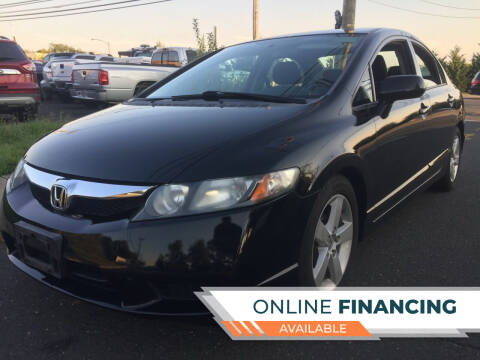 2009 Honda Civic for sale at New Jersey Auto Wholesale Outlet in Union Beach NJ