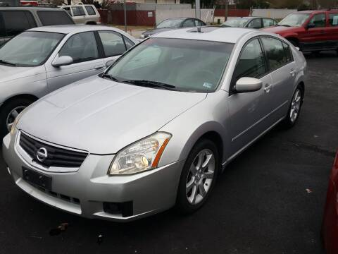 2007 Nissan Maxima for sale at Premier Auto Sales Inc. in Newport News VA