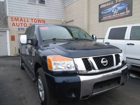 2008 Nissan Titan for sale at Small Town Auto Sales in Hazleton PA