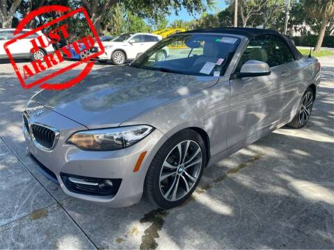 2016 BMW 2 Series for sale at Florida Fine Cars - West Palm Beach in West Palm Beach FL