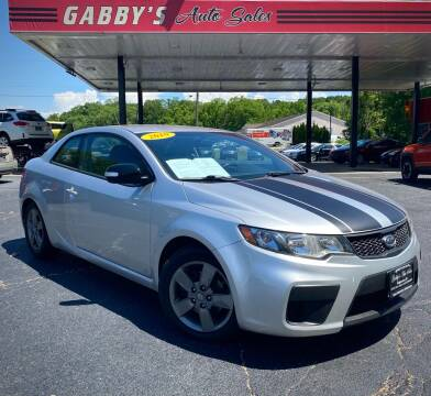 2010 Kia Forte Koup for sale at GABBY'S AUTO SALES in Valparaiso IN