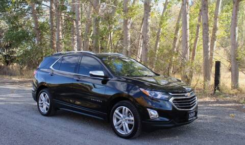 2018 Chevrolet Equinox for sale at Northwest Premier Auto Sales in West Richland WA