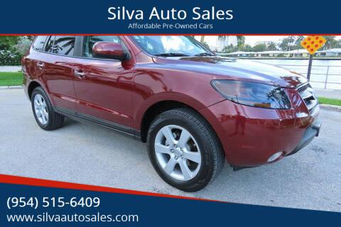 2007 Hyundai Santa Fe for sale at Silva Auto Sales in Pompano Beach FL