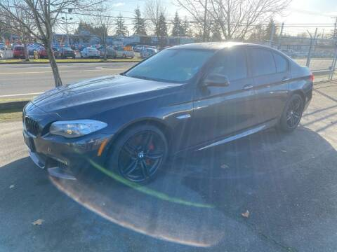 2013 BMW 5 Series for sale at Vista Auto Sales in Lakewood WA