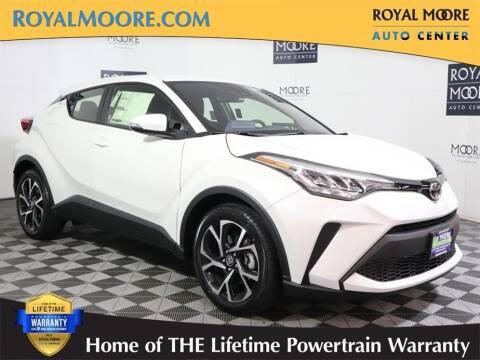 2021 Toyota C-HR for sale at Royal Moore Custom Finance in Hillsboro OR