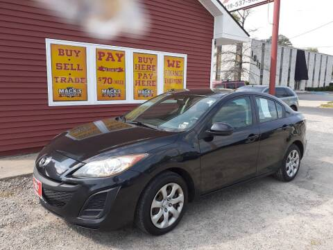 2011 Mazda MAZDA3 for sale at Mack's Autoworld in Toledo OH