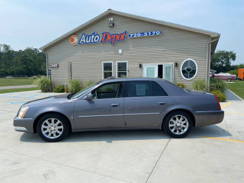 2008 Cadillac DTS for sale at The Auto Depot in Mount Morris MI