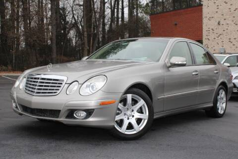 2008 Mercedes-Benz E-Class for sale at Atlanta Unique Auto Sales in Norcross GA