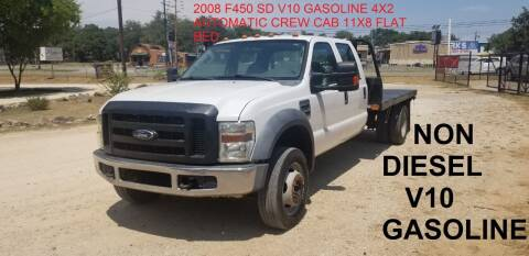 2008 Ford F-450 Super Duty for sale at STX Auto Group in San Antonio TX