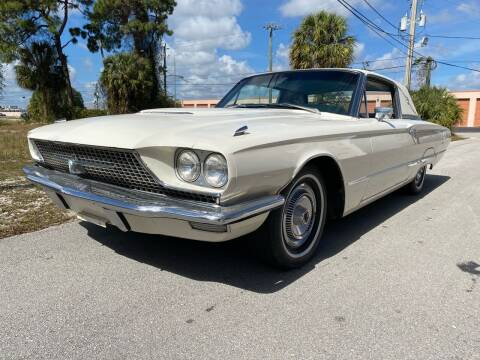 1966 Ford Thunderbird for sale at American Classics Autotrader LLC in Pompano Beach FL