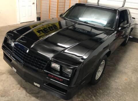 1987 Chevrolet Monte Carlo for sale at Muscle Car Jr. in Alpharetta GA