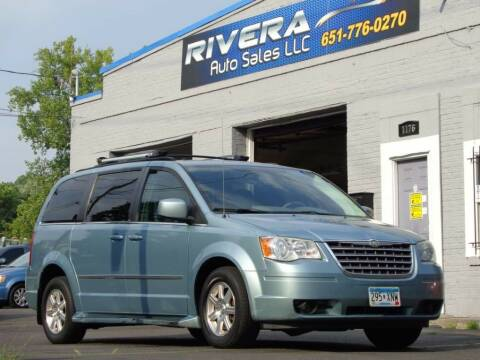 2009 Chrysler Town and Country for sale at Rivera Auto Sales LLC in Saint Paul MN
