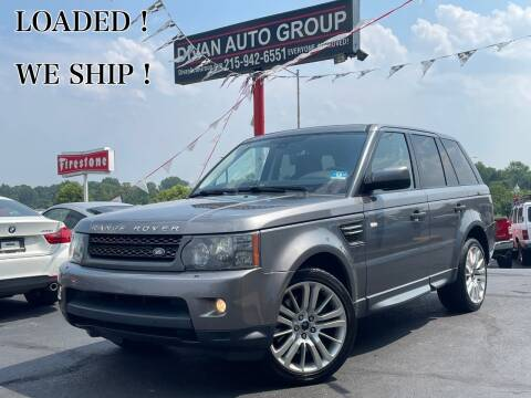 2010 Land Rover Range Rover Sport for sale at Divan Auto Group in Feasterville Trevose PA