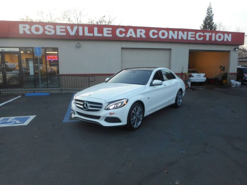 2018 Mercedes-Benz C-Class for sale at ROSEVILLE CAR CONNECTION in Roseville CA