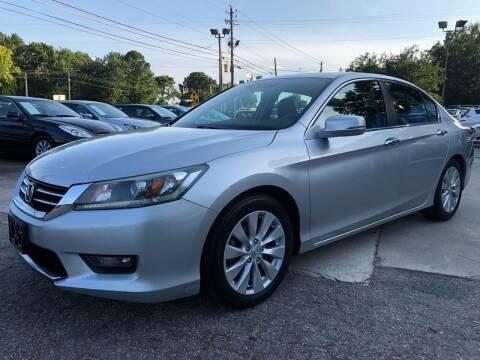 2014 Honda Accord for sale at Capital Motors in Raleigh NC