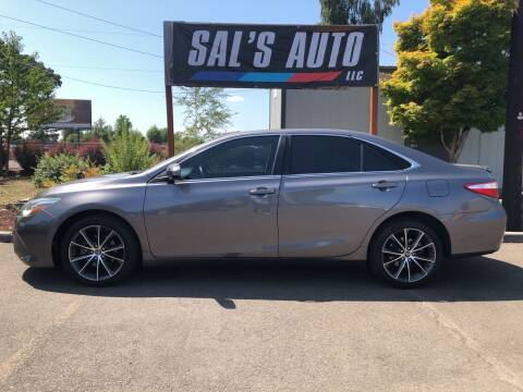 2015 Toyota Camry for sale at Sal's Auto in Woodburn OR