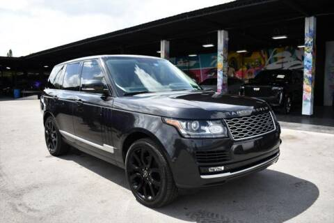 2014 Land Rover Range Rover for sale at AE Of Miami in Miami FL