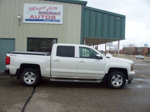 2014 Chevrolet Silverado 1500 for sale at Magic City Wholesale in Minot ND