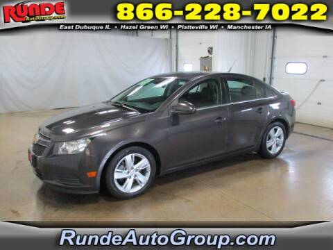 2014 Chevrolet Cruze for sale at Runde Chevrolet in East Dubuque IL