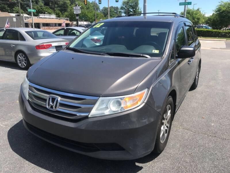2012 Honda Odyssey for sale at Dad's Auto Sales in Newport News VA