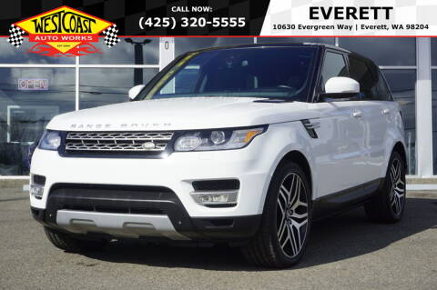 2014 Land Rover Range Rover Sport for sale at West Coast Auto Works in Edmonds WA