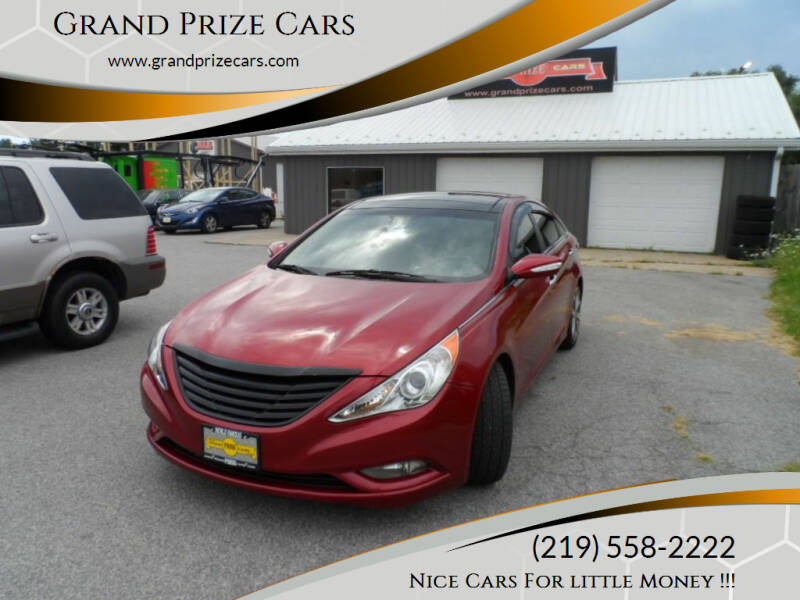 2013 Hyundai Sonata for sale at Grand Prize Cars in Cedar Lake IN