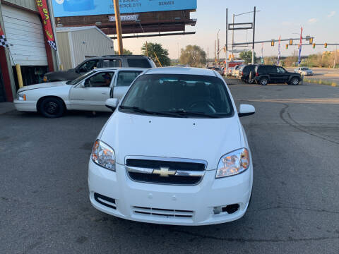 2008 Chevrolet Aveo for sale at Highbid Auto Sales & Service in Arvada CO