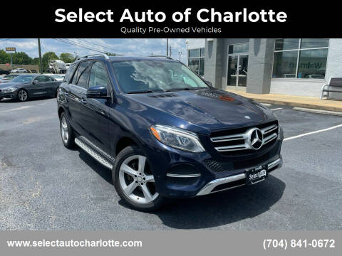 2016 Mercedes-Benz GLE for sale at Select Auto of Charlotte in Matthews NC