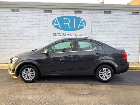 2015 Chevrolet Sonic for sale at ARIA  AUTO  SALES in Raleigh NC