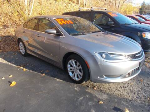 2015 Chrysler 200 for sale at Dansville Radiator in Dansville NY