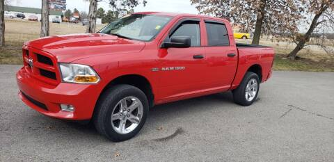 2012 RAM Ram Pickup 1500 for sale at Elite Auto Sales in Herrin IL