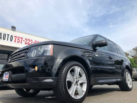 2012 Land Rover Range Rover Sport for sale at Trimax Auto Group in Norfolk VA