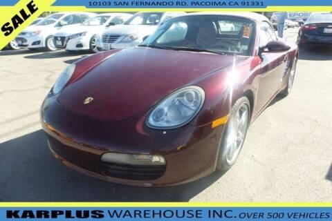 2006 Porsche Boxster for sale at Karplus Warehouse in Pacoima CA