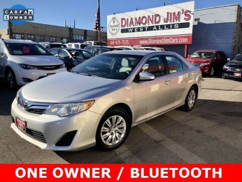 2012 Toyota Camry for sale at Diamond Jim's West Allis in West Allis WI