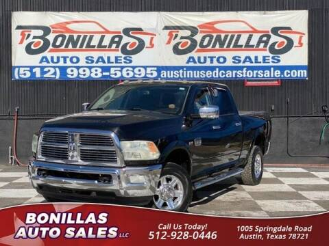 2012 RAM Ram Pickup 2500 for sale at Bonillas Auto Sales in Austin TX