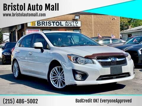 2012 Subaru Impreza for sale at Bristol Auto Mall in Levittown PA