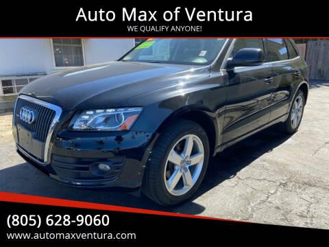 2012 Audi Q5 for sale at Auto Max of Ventura - Automax 3 in Ventura CA