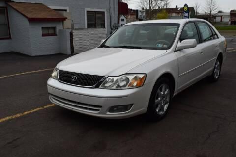 2002 Toyota Avalon for sale at L&J AUTO SALES in Birdsboro PA
