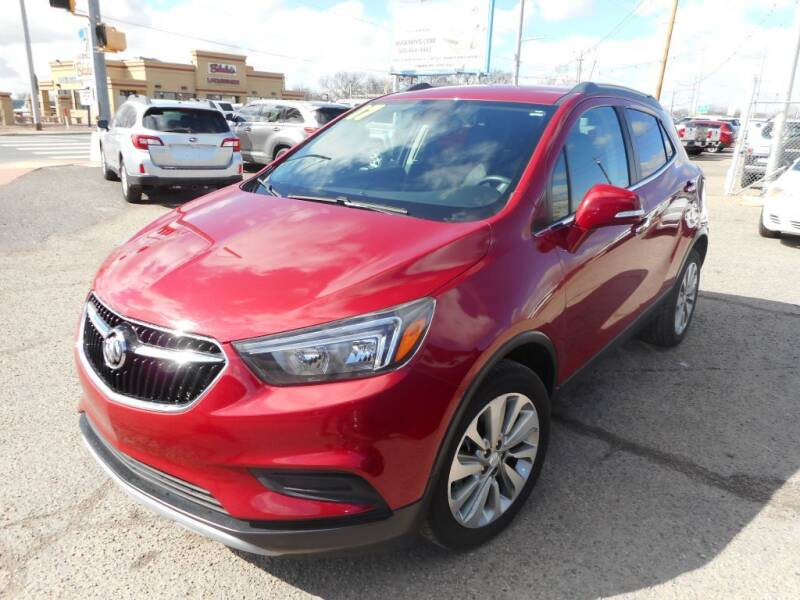 2017 Buick Encore for sale at AUGE'S SALES AND SERVICE in Belen NM