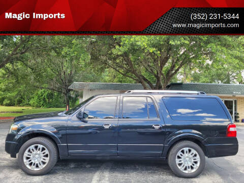 2011 Ford Expedition EL for sale at Magic Imports in Melrose FL
