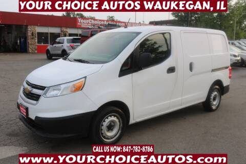 2018 Chevrolet City Express Cargo for sale at Your Choice Autos - Waukegan in Waukegan IL