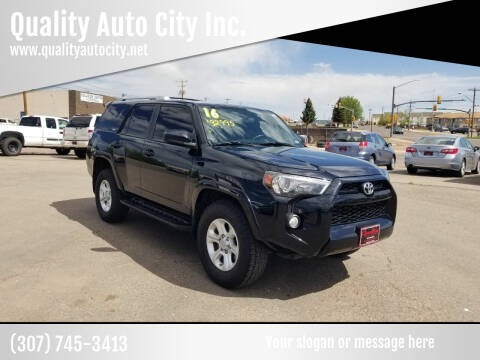 2016 Toyota 4Runner for sale at Quality Auto City Inc. in Laramie WY