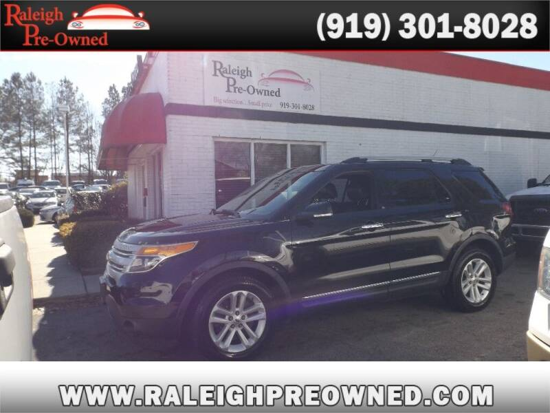2013 Ford Explorer for sale at Raleigh Pre-Owned in Raleigh NC